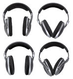 Headphones set isolated Royalty Free Stock Images
