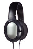Headphones side view Royalty Free Stock Images