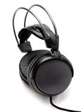 Headphones sideview Stock Photos