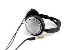 Headphones. Stereo headphones on white background Stock Images