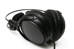 Headphones (Studio / DJ) Royalty Free Stock Photography