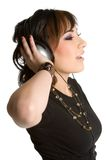 Headphones Teen Girl Royalty Free Stock Photos