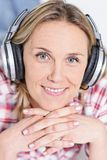 Headphones time Royalty Free Stock Photo