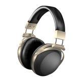 Headphones - vector illustration Stock Photo