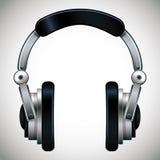 Headphones vector illustration. Stock Photos