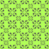 Headphones vector seamless pattern. Stock Photography