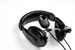 Headphones and webcam Royalty Free Stock Photos