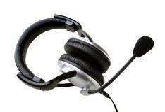 Headphones on white Royalty Free Stock Photos