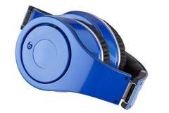Headphones on white backgroun Stock Photography