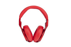 Headphones on white backgroun Royalty Free Stock Images
