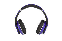 Headphones on white backgroun Stock Images