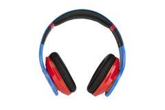 Headphones on white backgroun Royalty Free Stock Image