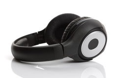Headphones on a white background Stock Images