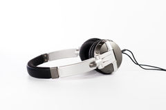 Headphones on white background Stock Images