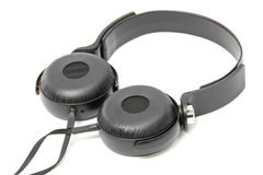 Headphones on white Royalty Free Stock Images