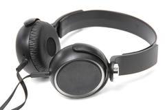 Headphones on white background Stock Photos