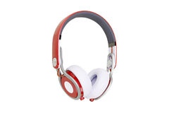 Headphones on white background Stock Image