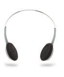 headphonestereo Fotografering för Bildbyråer