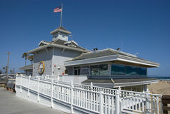 Headquarter of Newport Beach Life Guards, Orange County - California Royalty Free Stock Image