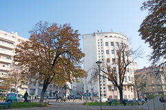 Headquarters building of the Serbian National News Agency Tanjug in Belgrade Royalty Free Stock Photography