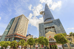 The headquarters downtown Sai Gon Royalty Free Stock Photography