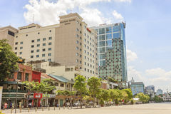 The headquarters downtown Sai Gon Royalty Free Stock Images