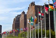 headquarters förenade nationer Royaltyfria Bilder