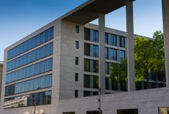 Headquarters of the Federal Foreign Office Germany royalty free stock image