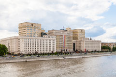 Headquarters of the Ministry of Defense of Russia Stock Photo