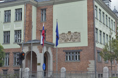 Headquarters of the Ministry of Foreign, Republic of Slovenia Stock Image