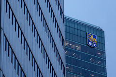 Headquarters of the Royal Bank of Canada in Toronto, Canada Royalty Free Stock Photo