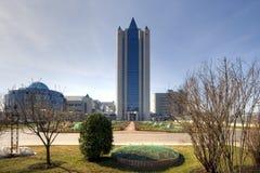 Headquarters von Gazprom Lizenzfreie Stockfotografie