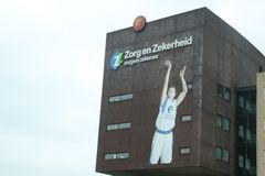 Headquarters of the Zorg en Zekerheid office, an Health care insurance company in Leiden, The Netherlands. Headquarters of the Zorg en Zekerheid office, an stock photo