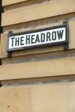 Headrow,利兹 免版税库存图片