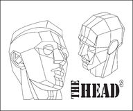 The heads Royalty Free Stock Image