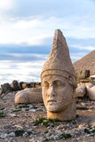 Heads on Nemrut Mountain Stock Photography