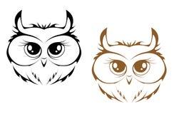 heads owlen Arkivfoton