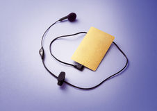 Food Headset. Headset for cordless and corded phones Stock Photos