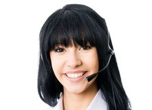 Headset. Royalty Free Stock Photo