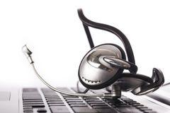headset Imágenes de archivo libres de regalías