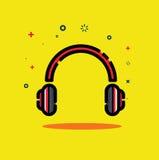 headset Fotografia Stock Libera da Diritti