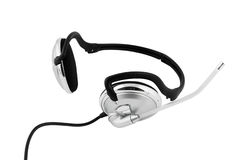 Headset isolated Royalty Free Stock Photography