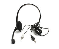 Headset with microphone Royalty Free Stock Images