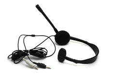Headset with microphone Stock Image