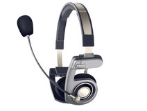 Headset with microphone Stock Photos