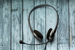 Headset with microphone Stock Photography