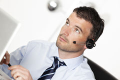 Headset spirit Royalty Free Stock Photo