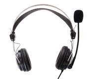 Headset on white background Stock Photo