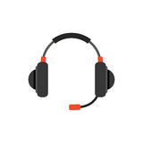 Headsets gaming device Stock Photography