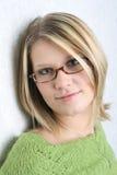headshot γυναίκα Στοκ Εικόνα